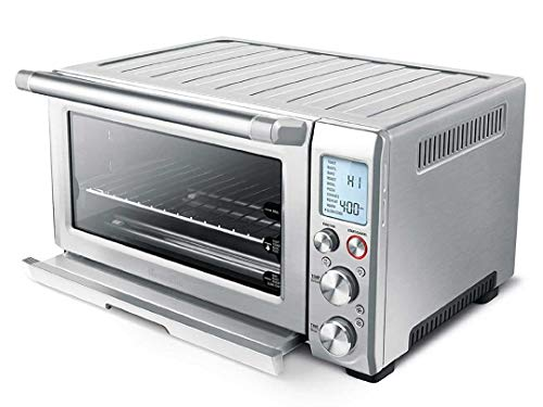 Breville Smart Oven Pro , 18.5\' x 14.5\' x 22.8\', Silver (Renewed)