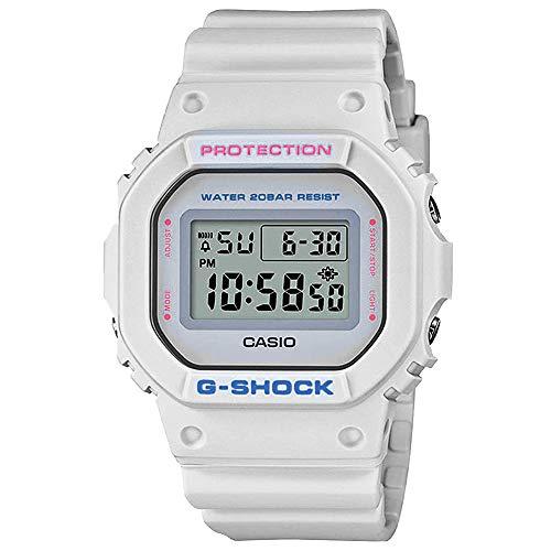 Relógio Casio Unisex G-Shock Soft Colors off-White DW-5600SC-8DR
