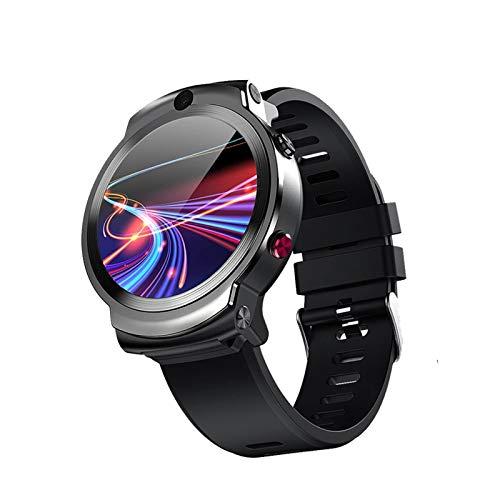 ZYDZ Smart Watch, DM28, 4G Watch Sports WiFi GPS GPS BT 1.6 Pulgadas Pantalla Táctil Fitness Tracker Android 7.1 32GB Reproductor De Música Bluetooth Phone Camera, C