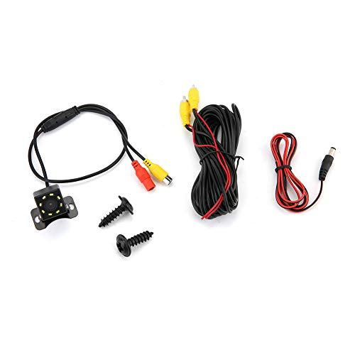 Nicoone 8 LED 170°Wide Angle Rearview Reverse Backup Camera Function Waterproof