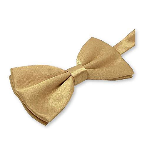 LABEL-CRAVATE Noeud-papillon acier-doré