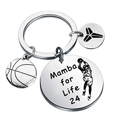 Kobe Motivational Mamba Key Chain