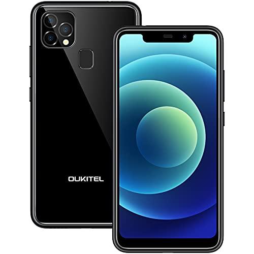 Smartphone Offerta del Giorno OUKITEL C22, 4GB 128GB (SD 256GB), 5.9  HD+ U-notch Android 10 Display Cellulari offerte, 13MP 8MP Camera, 4000 mAh Batteria, Dual SIM Face ID Telefono Economico Nero