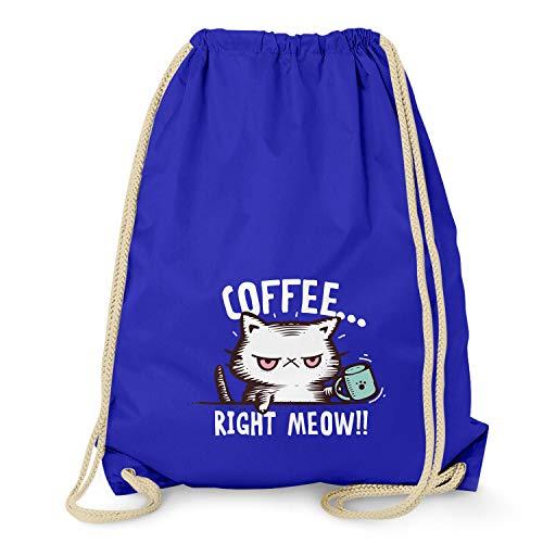 NERDO Coffee Right Meow Gymtas, uniseks