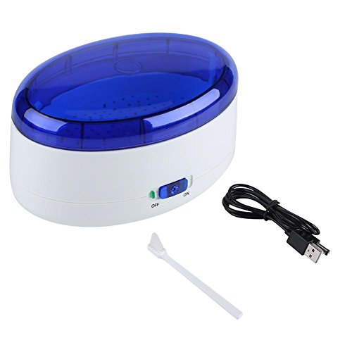 Ultraschall Reiniger Ultraschall Waschmaschine mit Korb für Reinigung Complete von Schmuck, Brillen, Ringe, Ohrringe, Armbänder, elektronische Karte