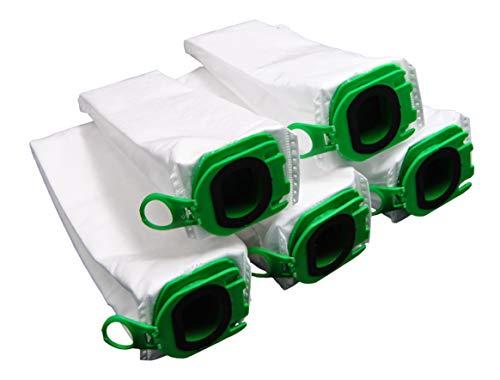5 Premium Staubsaugerbeutel geeignet für den Akku-Staubsauger Vorwerk Kobold VB100 VB 100 von FSProdukte