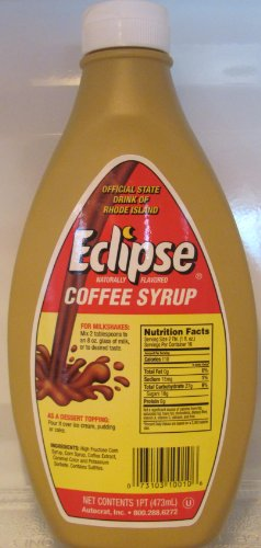 Eclipse Coffee Syrup, 16-Ounce. Bottles (Pack of 2)