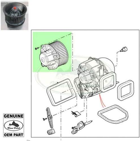 HEATER Deluxe BLOWER Bargain MOTOR DEFENDER 07-16 JGB500050 OEM
