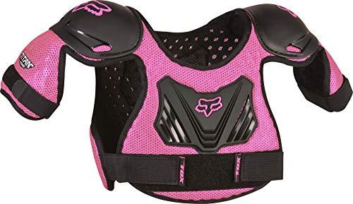 Fox Racing Unisex-Child Youth Titan Motocross Roost Deflector,Black/Pink,S/M