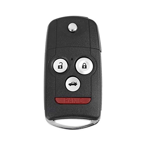 X AUTOHAUX Car Keyless Remote Flip Key Fob 313.8Mhz MLBHLIK-1T46 for Acura TSX 2009-2014