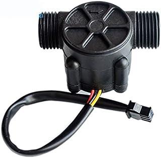 WINGONEER YF-S401 0.5-5L//min Water Flow Hall Sensor Switch Flow Meter Flowmeter Counter-White