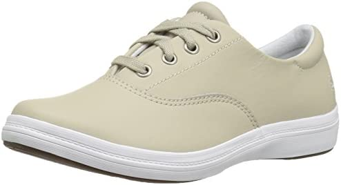 Grasshoppers Women s Janey II Fashion Sneaker Stone Leather 7 5 N US product image