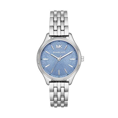 Michael Kors Damen Analog Quarz Uhr mit Edelstahl Armband MK6639