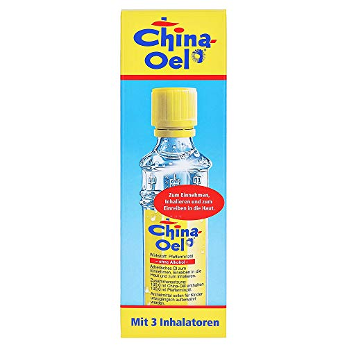 CHINA OEL mit 3 Inhalatoren, 100 ml