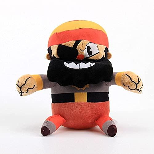 Juego de juguete de peluche de copa, almohada de abrazos de algodón de relleno suave premium, anime lindo Animales de peluche Muñecas de juguetes suaves, hermosos regalos para niños, novia (25 cm) Jia