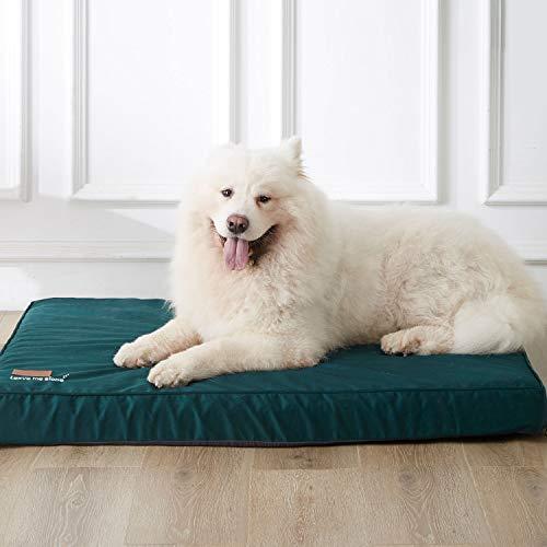 WESTERN HOME WH Hundebetten für große Hunde, beruhigend kühlendes Hundebett für Memory-Schaum, orthopädisches Gelenk mit waschbarem und abnehmbarem Bezug, wasserdicht, rutschfeste Unterseite, L
