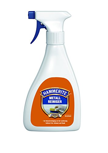 0,5 Liter Hammerite Metallreiniger Zur Intensiv-Reinigung vor Lakierungen