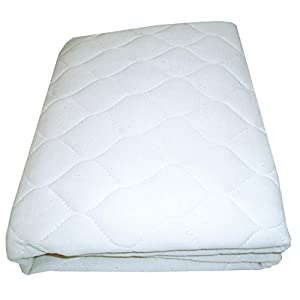 Babydoll Bedding Moses Basket Mattress Protector, 13″ x 27″