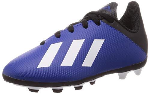 adidas Unisex-Kinder X 19.4 Fxg J Fußballschuhe, Blau (Team Königsblau/FTWR White/Black Core), 33 EU