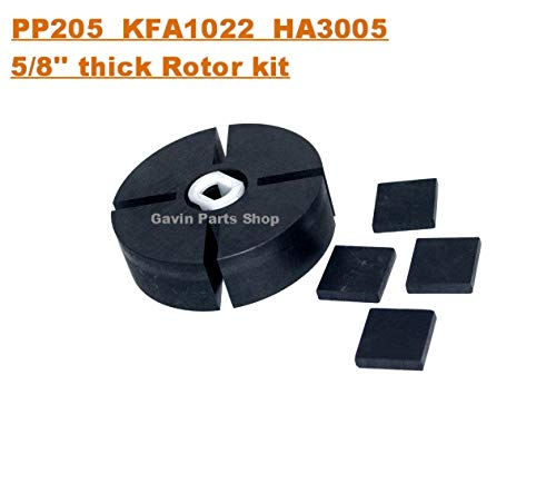 PP205 5/8' thick Rotor Kit for Reddy Master Dyna Glo Mi-T-M Portable Forced Air Heater HA3005 KFA1022 710221350 71-022-1010