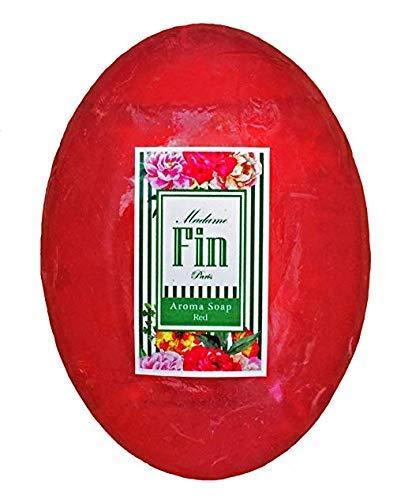 1ฺBar Best Famous Aroma Perfume Soap Madame Fin let the people of the body want to come and touch Vitamin C&E Pheromone Soap 100 g (Pink) By TDS