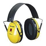 3M Peltor H510F Orejeras de protección, 1 unidad/caja, amarillo