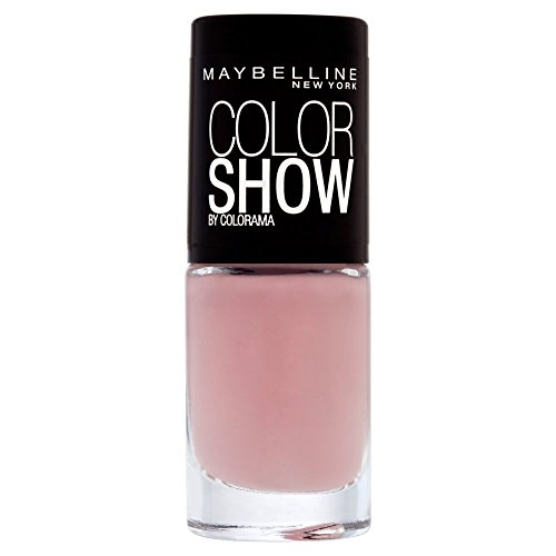 Maybelline New York Make-Up Nailpolish Color Show Nagellak/Ultra glanzende verflak in zacht bruin, 1 x 7 ml 7 ml