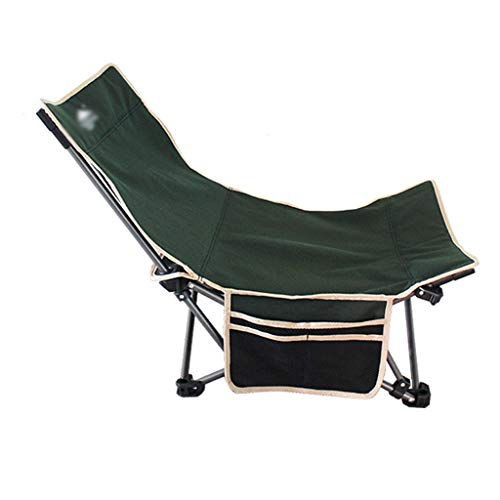 Silla plegable Silla de tijera plegable portátil Ocio reclinable silla de camping al aire libre con la bolsa de almacenamiento for sentarse y Opciones reclinable, de múltiples colores Silla de camping