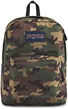 JanSport SuperBreak One Backpack - Lightweight School Bookbag - Surplu Camo