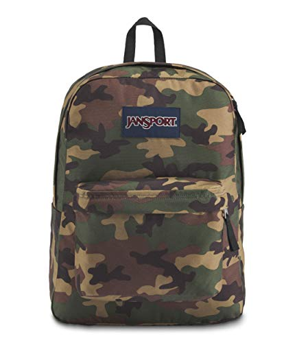 JANSPORT Superbreak Backpack Surplus Camo Schoolbag JS00T5014J9 Rucksack JANSPORT Bags