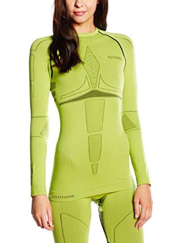 SPAIO Ultimate T-Shirt Manches Longues Femmes, Citron Vert, XL