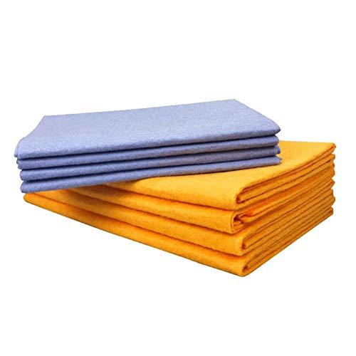 Alftek Super absorberende handdoeken, 8 stuks, anti-grease bamboevezels, afwasbaar