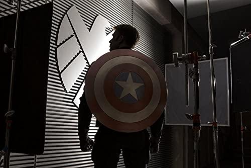 ZPDWT Puzzles 1000 Piezas-Capitán América: El Soldado del Invierno-Juegos Educativos, Rompecabezas de Desafío Cerebral para Niños, Juguete De Regalo Ideal,50 × 75 cm