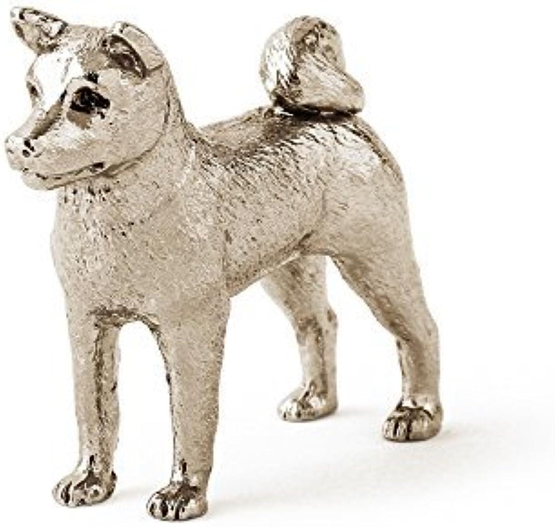 Akita dog dog figure made in UK (japan import) by DOG ARTS JP