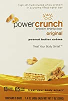 BioNutritional Research Group - Power Crunch Protein Energy Bar Peanut Butter Creme - 1.4 Ounce Bars, 5 Count by Power Crunch