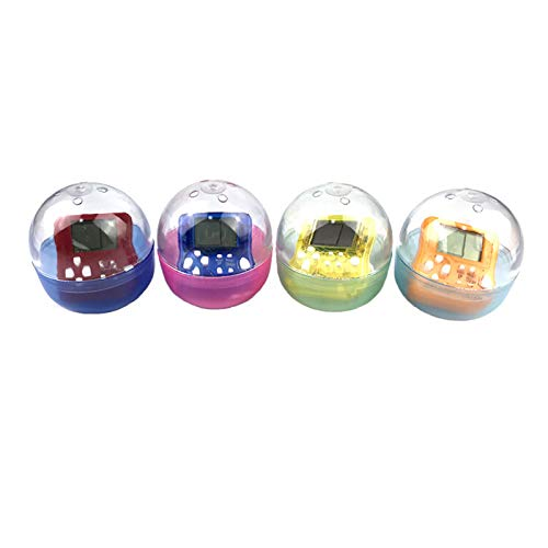 Nrpfell Portable Tetris Game Console Portachiavi con Ciondolo LCD Lettori palmari per Giochi Bambini Giocattoli elettronici educativi Consumatori di Mini Giochi