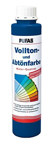 PUFAS Vollton- und Abtönfarben blau 0,75 Liter