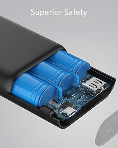Anker PowerCore 10000mAh externer Akku – die kleinere und leichtere Powerbank - 6