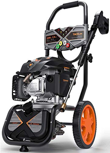 Best pressure washer gas