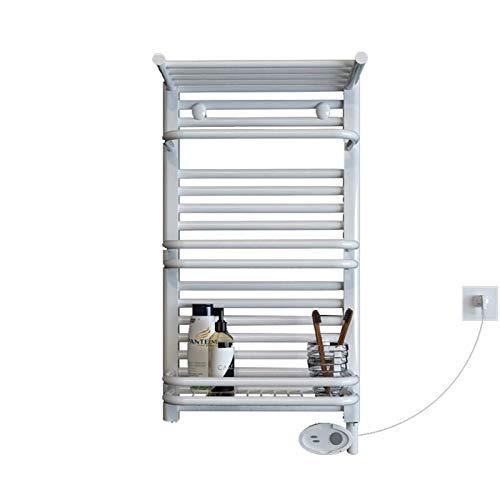 JJSFJH Toalla Caliente Calentador eléctrico Toalla eléctrica Estante de Secado Cuarto de baño Calefacción Calefacción Toalla Toalla Rack Secado Rack Barras Rectas