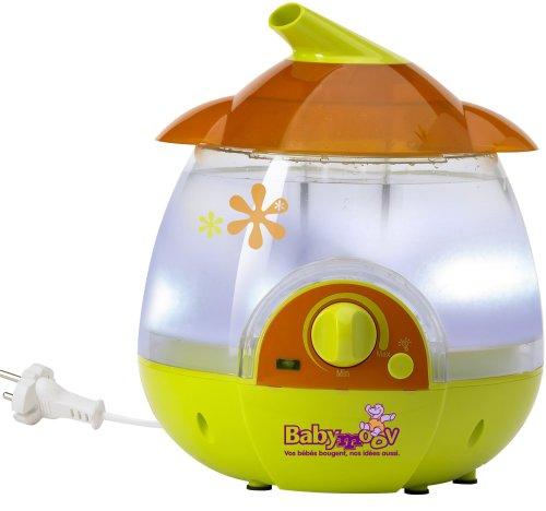 Babymoov A047001 - Luftbefeuchter inklusive Nachtlichtfunktion - Farbe orange