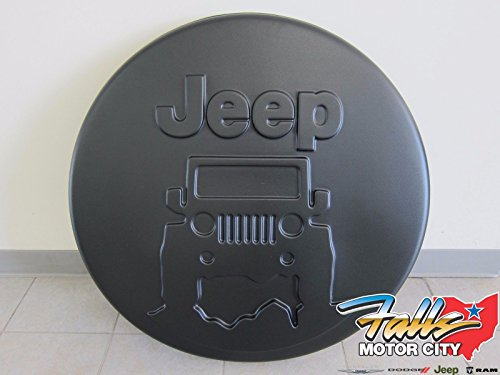Jeep Wrangler Mopar Jeep On The Rocks Logo Hard Shell Tire Cover