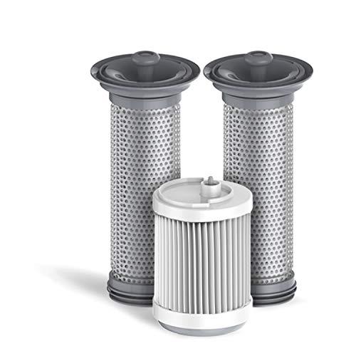 2 pre-filtri + 1 filtro HEPA per serie Tineco A11