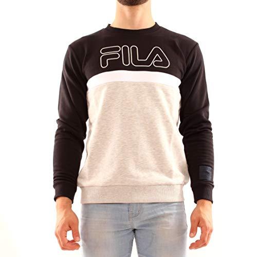 Fila 688142−A220 Sweat-Shirt pour Enfant Noir 146/152