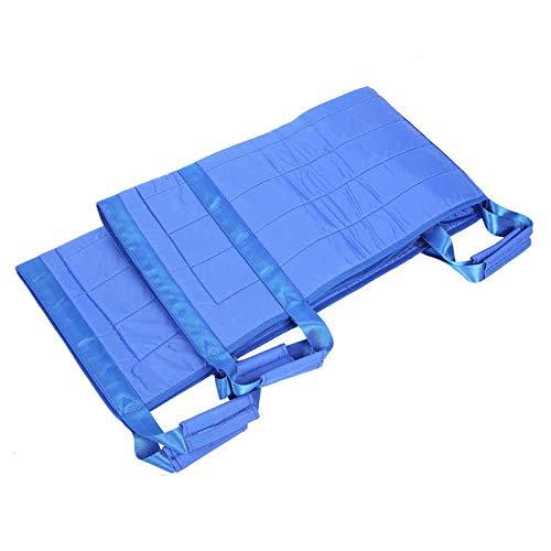 YUXIwang Cinturón de elevación de pacientes Posicionamiento Almohadilla de cama Levantamiento del paciente Hoja de transferencia Lavable Pad de torneado con soporte de rodamiento de mango reforzado 15