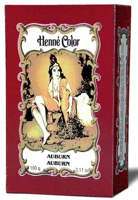 Henne Color Henné 100G poudre d'acajou foncé 100G