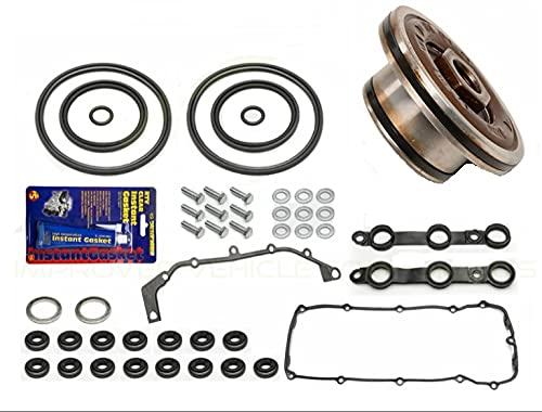 X8R REBUILD KIT FOR DOUBLE TWIN DUAL VANOS UNIT SEALS WITH GASKETS REPAIR SET KIT APPLICABLE TO BMW 6 CYLINDER M52TU M54 ENGINES X8R0067-X8R0028