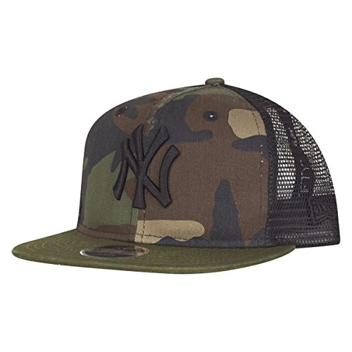 New Era Kinder Snapback Cap - NY Yankees Washed Wood camo