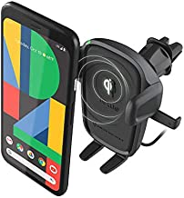 iOttie Wireless Car Charger Easy One Touch Wireless 2 Qi Charging CD Slot + Air Vent Combo Phone Mount for iPhone, Samsung Galaxy, Huawei, LG, Smartphones