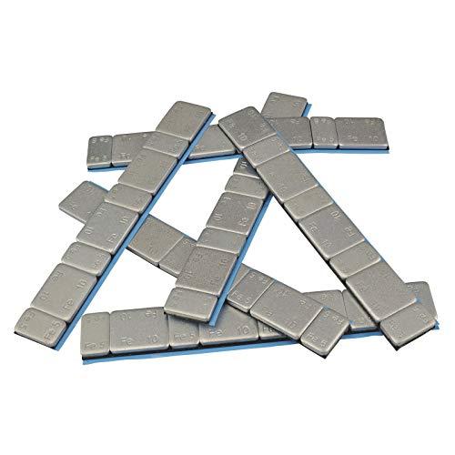 25 Riegel Klebegewichte Kleberiegel Auswuchtgewichte 5g*4+10g*4 Abrisskante